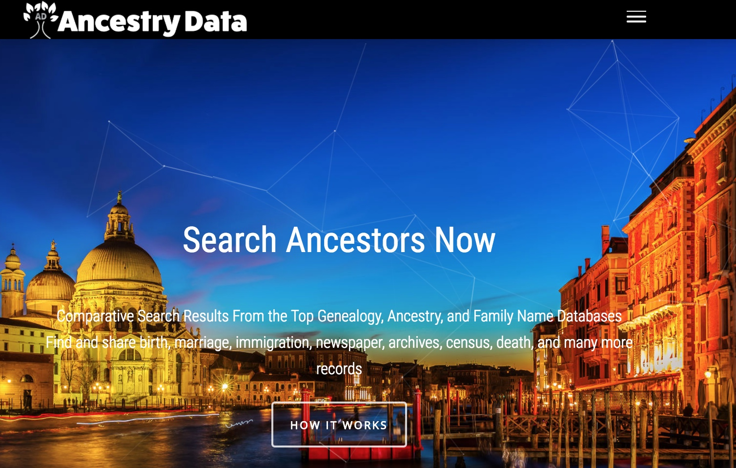 AncestryData com - Compare and Search Family Names and DNA Kits